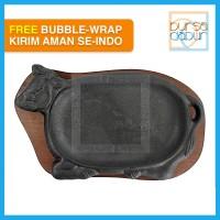 Cast Iron - GRD-CP21 - Bentuk Sapi 21 x 13.5 cm / Hot Plate