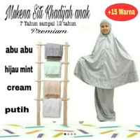 Mukena Siti Khadijah anak premium 2
