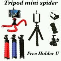 TRIPOD HP SPIDER MINI HOLDER U OCTOPUS FLEXIBLE PHONE GU JS179
