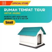 M-PETS LOFT DOG HOUSE SIZE SMALL / RUMAH TEMPAT TIDUR ANJING