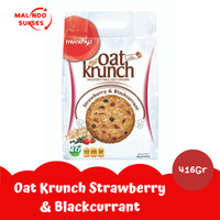 Oat Krunch Strawberry & Blackcurrant 416 gr