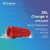 JBL Charge 4 Portable Waterproof Wireless Bluetooth Speaker - Red