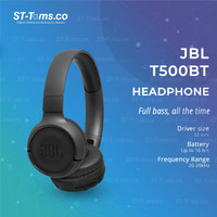 JBL Tune T500BT / T 500 BT / T500 BT Bluetooth Headphone