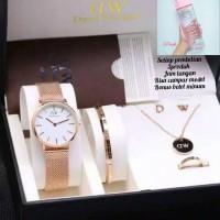Jam Tangan Wanita D7196W Paket Free Box&Baterai Cadangan - Gambar 1