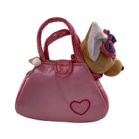 Pretty Missy Boneka Plush Chihuahua With Bag