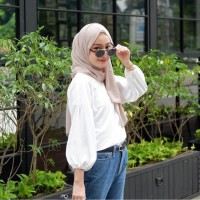 LUCY TOP BLOUSE - LILAC