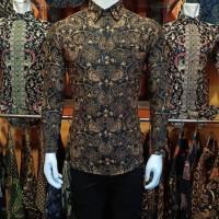 Kemeja Batik Pria Lengan Panjang Alisan Exlusive