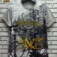 Kaos 3D Size XL Fullprint Thai Cotton Combed 30s Baju Sepeda Rider