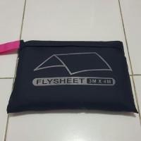 Flysheet Tenda 3x4m / Cover Tenda / Flysheet Ultralight Lapisan Tenda