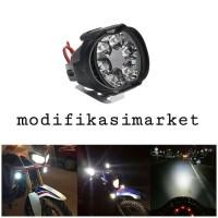 LAMPU TEMBAK SOROT LED SPION MOTOR WORK LIGHT CREE 6 MATA 6 WATT 12V