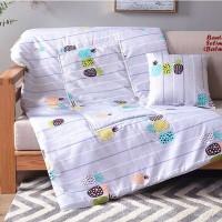 Balmut Bantal Selimut PINEAPPLE selimut yg bisa dilipat jadi bantal