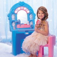 little tikes mainan anak ice princess magic mirror 652783m