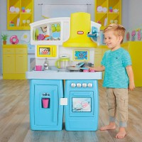 little tikes set mainan tasty bake & share kitchen 649554m