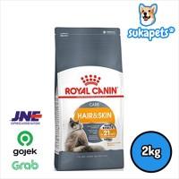 Royal Canin Hair and Skin Care Kucing Dewasa 2kg - Ready Stock