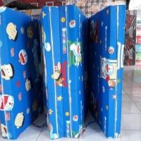 baru KASUR LIPAT BUSA INOAC NO 5 90X200X10cm motif Doraemon Ready