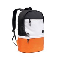 TAS RANSEL LAPTOP PRIA BACKPACK TAS DISTRO GALAXY (FREE COAT) - GLXY OREN BLACK