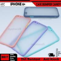 Iphone 5 6 6S 7 8 Plus X XS XR Max Case Bumper Macaron Candy Lensa