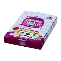 Mainan Edukasi Anak Konsep Flash Card Wipe Clean Bahasa Arab Benda