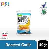 Everything Banana Chips Roasted Garlic 40g