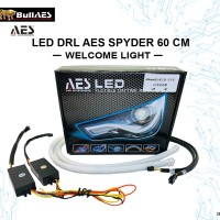DRL AES Softled 60 cm Welcome Light Sequential Signal Light SPYDER