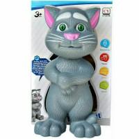 Mainan Anak Boneka Kucing Tom Bicara Bahasa Inggris Intelligent Cat