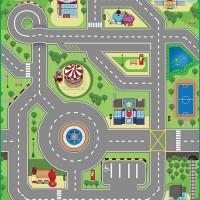 Matras Alas Lantai Karpet Tikar Evamat Evamatic Cross Road 3DUPlay