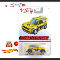 Hotwheels Mini Cooper Kuning Series Flying Customs