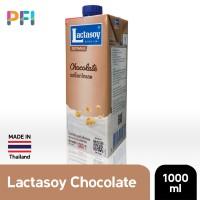 Lactasoy Soy Milk Chocolate 1L Susu Kacang UHT