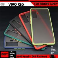 Vivo V20 SE V9 Y71 Y81 X50 l X50 Pro Case Bumper Matte Candy Hybrid