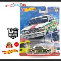 Hotwheels Retro Ban Karet 71 Datsun 510 Seri Door Slammers Premium