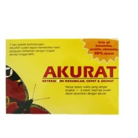 Akurat Strip Alat Tes Kehamilan/Test Pack - IZI Healthcare