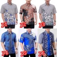 Kemeja Batik Pria Murah Lengan Pendek   Baju Batik Pria   Kemeja Batik