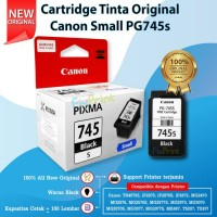 Cartridge Original Canon Small PG-745s PG745s 745 Black, Tinta Printer