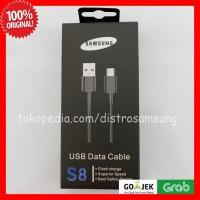 Kabel Data Samsung Type C BLACK Original 100% Xiaomi HTC Zenfone LG