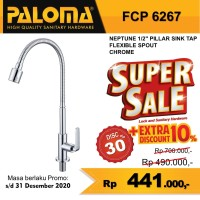 Keran Kran Air Dingin Flexible Sink Wastafel Dapur Tap PALOMA FCP 6267