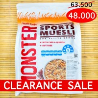 Sports Muesli with Chia and Quinoa MONSTER HEALTH FOOD - 700g