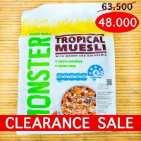 Tropical Muesli with Mango and Macadamia MONSTER HEALTH FOOD - 700g
