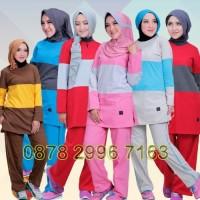 Setelan Baju Olahraga Wanita Muslim Believe BMS 03