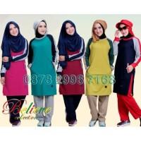 Setelan Baju Olahraga Wanita Muslim Believe BMS 07