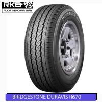 Bridgestone Duravis R670 145 R12 6PR Ban Motor Roda 3 Viar Triseda