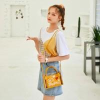 HN124 Tas Selempang Transparan Wanita Trendy Sling Bag Korea Fashion