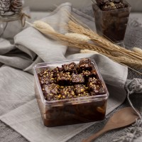 Browbox Belgian Chocolate - Brownies Dessert Box - Brownis Cokelat