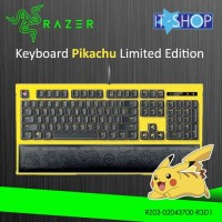 Razer Keyboard Ornata Expert Pikachu Limited Edition