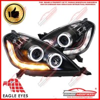 HEAD LAMP - TOYOTA INNOVA 2004 - 2010 - ANGEL EYES - LED - SEQUENTIAL