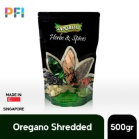 Dried Oregano Shredded Saporito Pouch 500g Oregano Kering Import