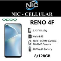 OPPO Reno 4F 8/128 RAM 8GB INTERNAL 128GB GARANSI RESMI OPPO
