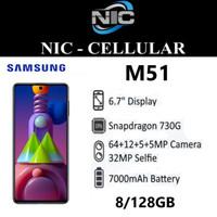 SAMSUNG GALAXY M51 8GB 128GB 8/128 - GARANSI RESMI