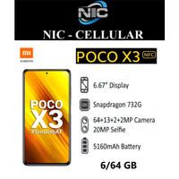 Xiaomi Pocophone X3 NFC 6/64 Ram 6gb Rom 64gb GARANSI RESMI