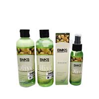 Paket BMKS Olive 3In1 Shampo, Conditioner dan Hair Tonic