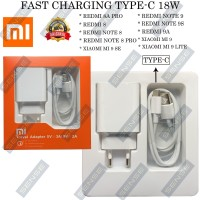 CHARGER XIAOMI REDMI NOTE 8 / NOTE 8 PRO 18W MDY-10EF TYPE C ORIGINAL